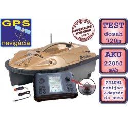 Zavážacia loďka Prisma 6 + sonar + GPS SET