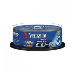 VERBATIM CD-R 80 52x PRINT. box 10pck/BAL
