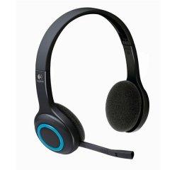 Logitech náhlavní souprava Wireless Headset H600, bezdrátová, černá