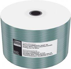MEDIARANGE CD-R 8cm 200MB 24x folie 50pck/bal Inkjet Printable