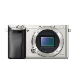 SONY ILCE-6000 Fotoaparát Alfa 6000 s bajonetem E - tělo - Silver