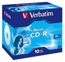VERBATIM CD-R 80 MUSIC box 10pck/BAL