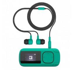 ENERGY MP3 Clip Mint (8GB, MicroSD, FM, sluchátka)