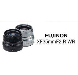 Fujifilm FUJINON XF35mm F/2 R WR - Silver
