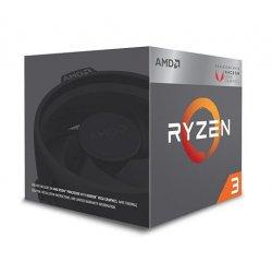AMD cpu Ryzen 3 2200G Box AM4 (4core, 4x vlákno, 3.5GHz / 3.7GHz, 6MB cache, 65W), RX VEGA 8, chladič Wraith Stealth