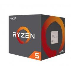 AMD cpu Ryzen 5 2600 Box AM4 (6core, 12x vlákno, 3.4GHz / 3.9GHz, 16MB cache, 65W), chladič Wraith Stealth