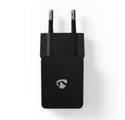 Nedis WCHAU211ABK - Síťová nabíječka | 2,1 A | 1 výstup | USB-A | Černá barva