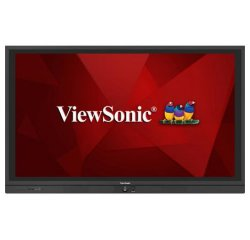 """Viewsonic IFP6560 65"""" dotykový 4K/350cd/4000:1/8ms/3xHDMI/VGA/DP/RS232/OPS/RJ45/7xUSB/Repro 2x10W/VESA/Android"""