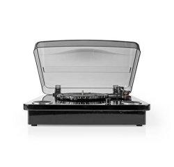 Nedis TURN300BK - Gramofon | 18 W | Bluetooth® | Převod Přes Rozhraní USB | Kryt Proti Prachu | Černý