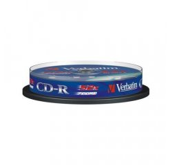 VERBATIM CD-R 80 52x EXTRA spindl 10pck/BAL