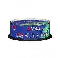 VERBATIM CD-R 80 52x EXTRA spindl 25pck/BAL