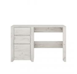 TEMPO KONDELA PC stôl typ 80, biela craft, ANGEL