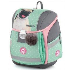 Anatomická školská taška Premium Light Isha - My love Pet
